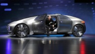CES Self-Driving Mercedes