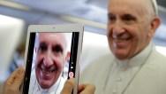 APTOPIX Colombia Pope