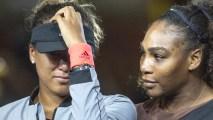 1033598680-Naomi-Osaka-Serena-Williams Boos at US Open Final Left Winner Naomi Osaka 'a Little Bit Sad'
