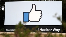 942400992-Facebook-Menlo-Park-Hacker-Way Facebook Talks 'Arms Race' to Protect Users Before Midterms