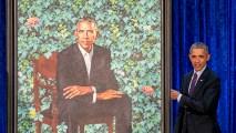 AP_180435792804611 Obama Portrait Draws Comparisons on Social Media