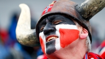 AP_18044139527027 Fans Wear Their National Spirit on Their Faces
