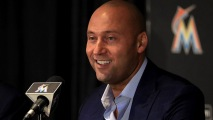 GettyImages-857109426 Jeter Allowing Marlins to Have 'Well-Groomed' Facial Hair