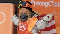 GettyImages-917565038_master Chloe Kim Wins Olympic Gold With Back-to-Back 1080s in Halfpipe