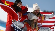 GettyImages-917575706 Feb. 13 Olympics Photos: US Takes Gold in Halfpipe, Wipeouts