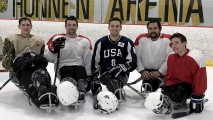 Sled-Hockey2 After Losing Legs, Sled Hockey Helped This Soldier Recover