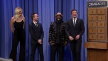 tjf_hlt_s5e092_835_charades_201802316-152126554823500002 'Tonight': Charades with Aaron Paul and Karlie Kloss