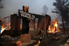 Before & After: NorCal Wildfire Leaves Town Unrecognizable