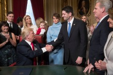 Trump Begins First Week in Office With Outreach