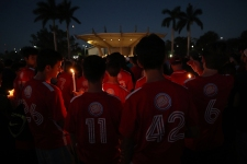 Sandy Hook to Parkland: 17 Angels Stand for Shooting Vigil