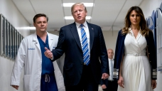 Trump Meets With Injured Victims of Parkland Shooting