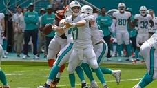 Dolphins Beat Browns for First Win of Season