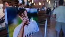Family, Teammates Say Goodbye to Jose Fernandez