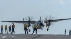 US Navy Aircraft Crashes In Pacific; 8 Rescued, 3 Missing