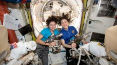 Astronauts Make History With 1st All-Female Spacewalk