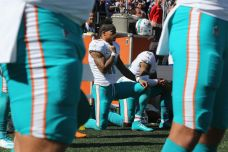 Dolphins WR Says He Will Continue to Kneel During Anthem