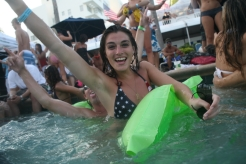 IndepenDance Pool Party at the Surfcomber Hotel