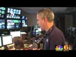 A Look Inside The New NBC 6 HD Control Room