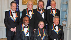 Letterman, Hoffman, Zeppelin Honored by Obama