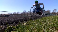 Teen Wheelchair Athlete Makes History on His School Track Team