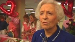 106-Year-Old Woman Celebrates Birthday on Valentine's Day