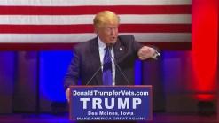Skipping Debate, Trump Touts Veteran Fundraising