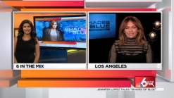 JLo chats being a mom,