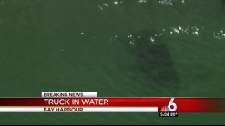 Woman Drives Truck Into Water in Bay Harbor Islands