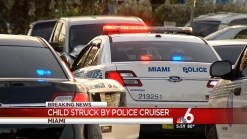 Child Struck By Miami Police Car, Rushed to Hospital