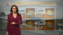 First Alert Forecast-- Sunday 9am