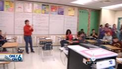 Soldier Surprises Son at Fort Lauderdale School