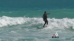 South Floridians and Tourists Relish Cooler Weather
