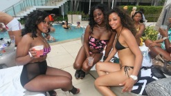Poolside at Irie Weekend