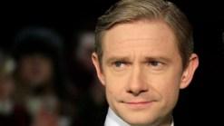 """Martin Freeman Dishes On """"Sherlock"""" & Meeting Lucy Liu"""