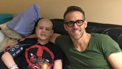 Reynolds Honors 13-Year-Old Cancer Patient