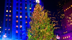 New York Rocks Famous Christmas Tree