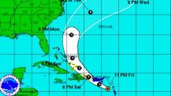Bertha Disorganized in Caribbean