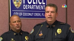 Suspect Kills 2, Injures Officer in Coconut Creek