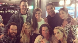 'Saved By The Bell' Cast Reunites For Dinner