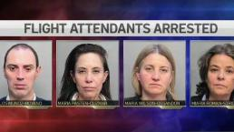 4 Flight Attendants Arrested at MIA on Money Laundering