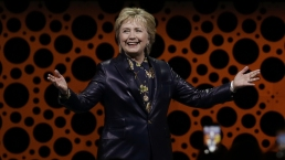 Clinton Gives First Post-Election Speech at Event for Women