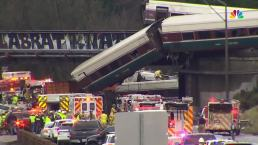 RAW VIDEO: Derailed Amtrak Train Injures and Kills Several