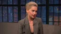 'Late Night': Emilia Clarke's Awkward Prince William Meeting
