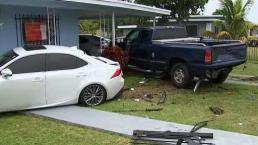Family Left Without a Home After Car Crash Leaves House