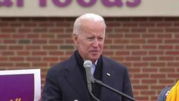 Joe Biden Rallies With Striking Stop & Shop Workers