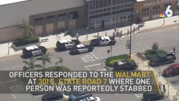 Hollywood Police Investigate Walmart Stabbing