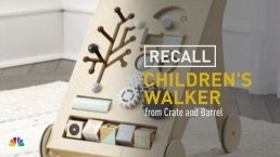 Crate and Barrel Recalls Children's Walker
