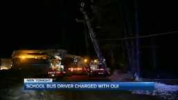 School Bus Driver Charged With OUI in Crash