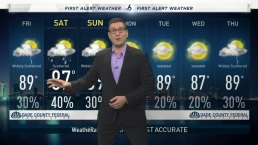 NBC 6 First Alert Evening Forecast, 10/17/19