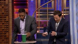 'Tonight': Fallon, Strahan Drink Weird Drinks